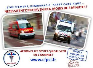 formation secourisme PSC1 montpellier