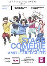 Image STAGE COMEDIE MUSICALE D'ETE